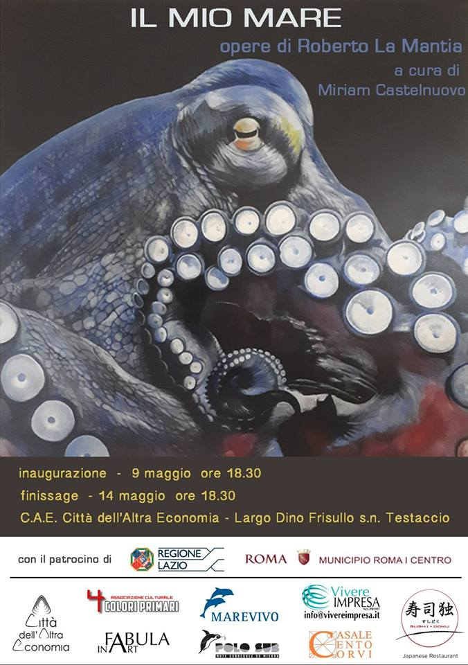 Il Mio Mare – Opere Di Roberto La Mantia